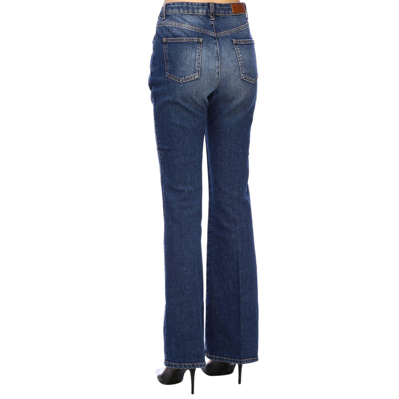 Jeans Sonia Rykiel in denim stretch a zampa denim 2
