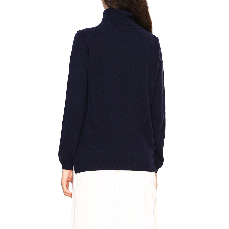 Pullover damen Re_branded blau 2