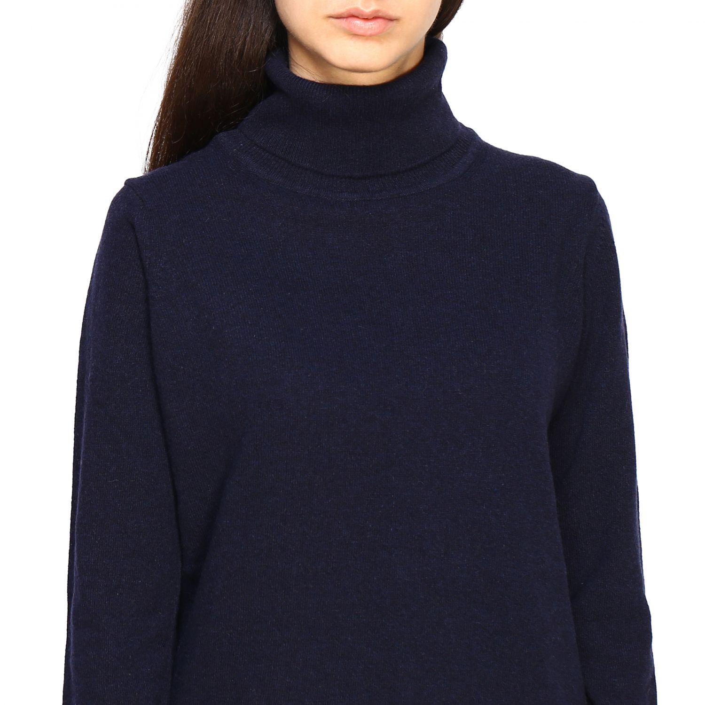 Pullover damen Re_branded blau 4