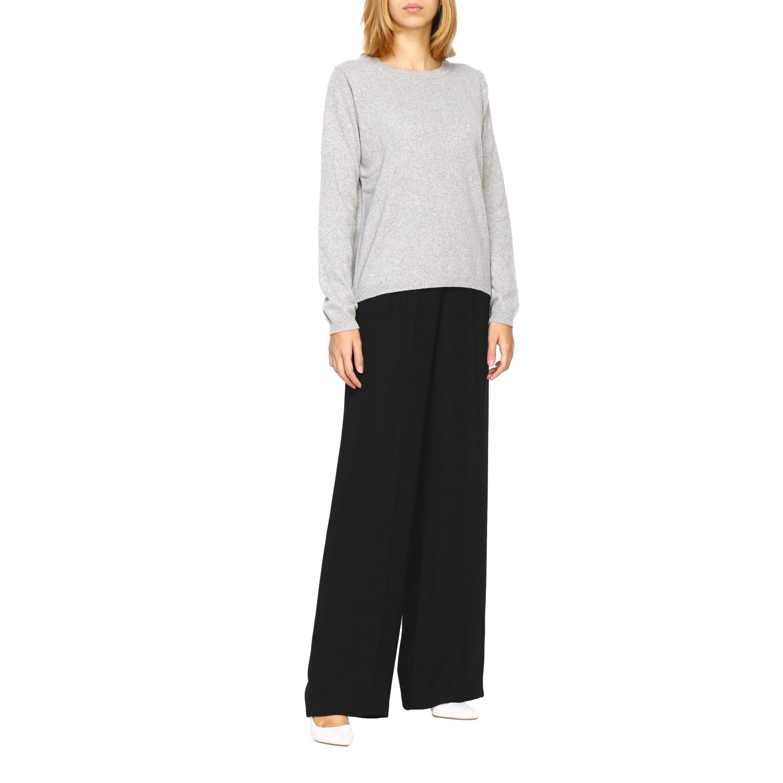 Pullover damen Re_branded grau 2