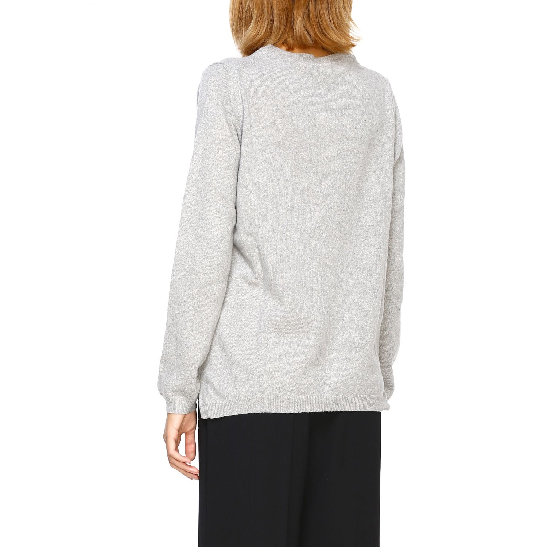 Pullover damen Re_branded grau 3