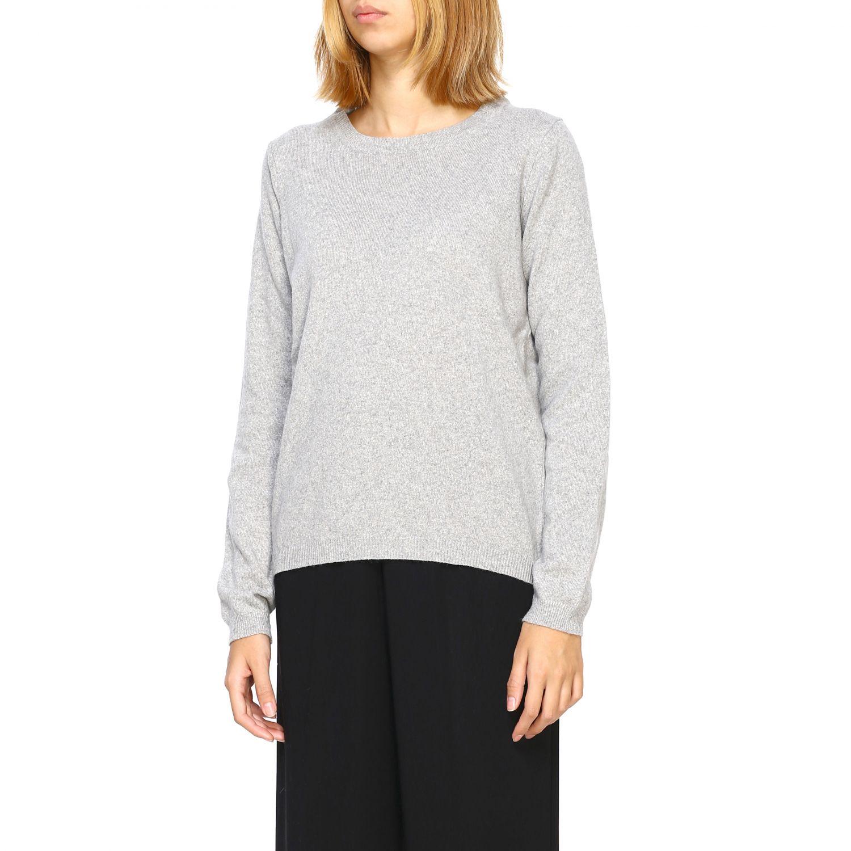 Pullover damen Re_branded grau 4