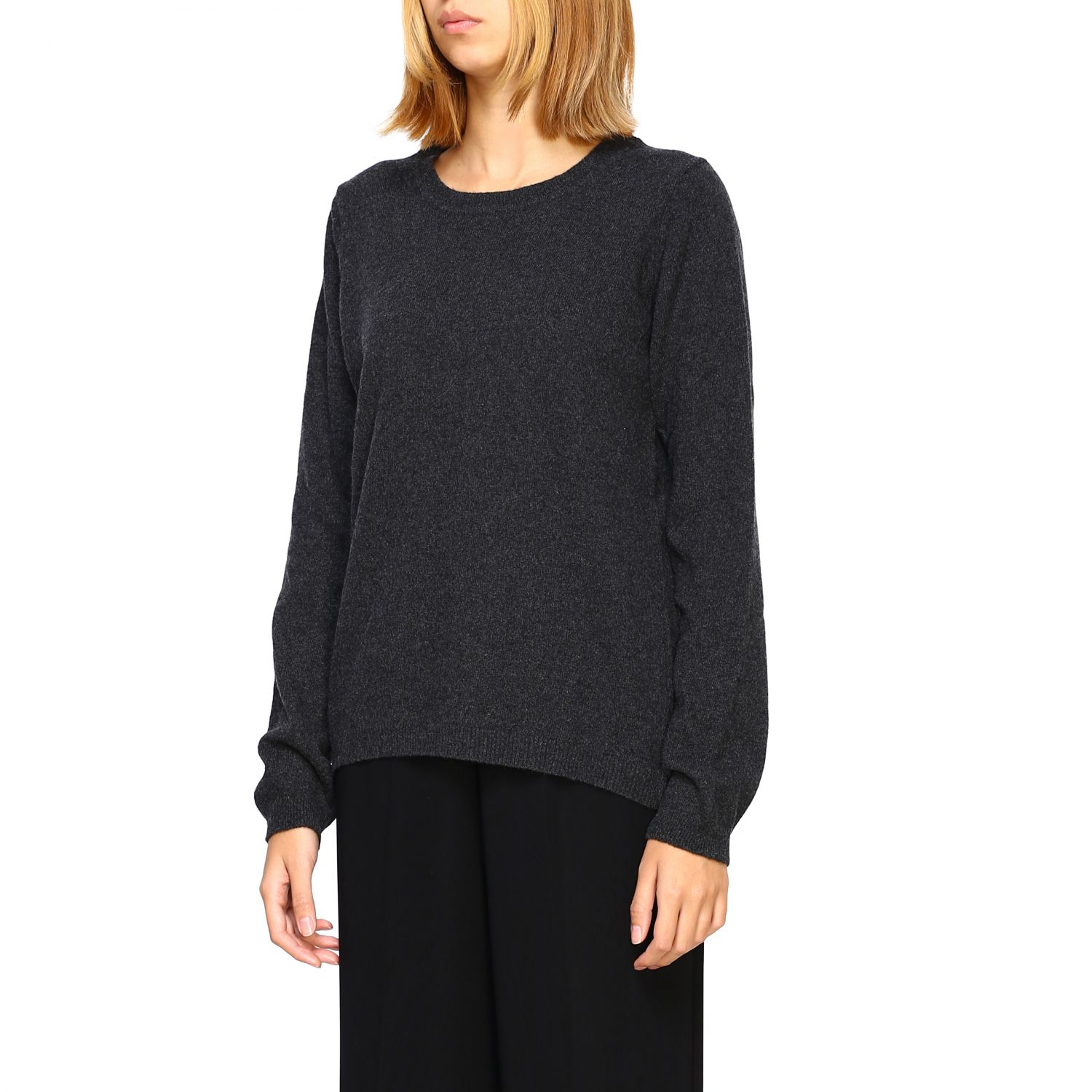Jumper women Re_branded charcoal 4