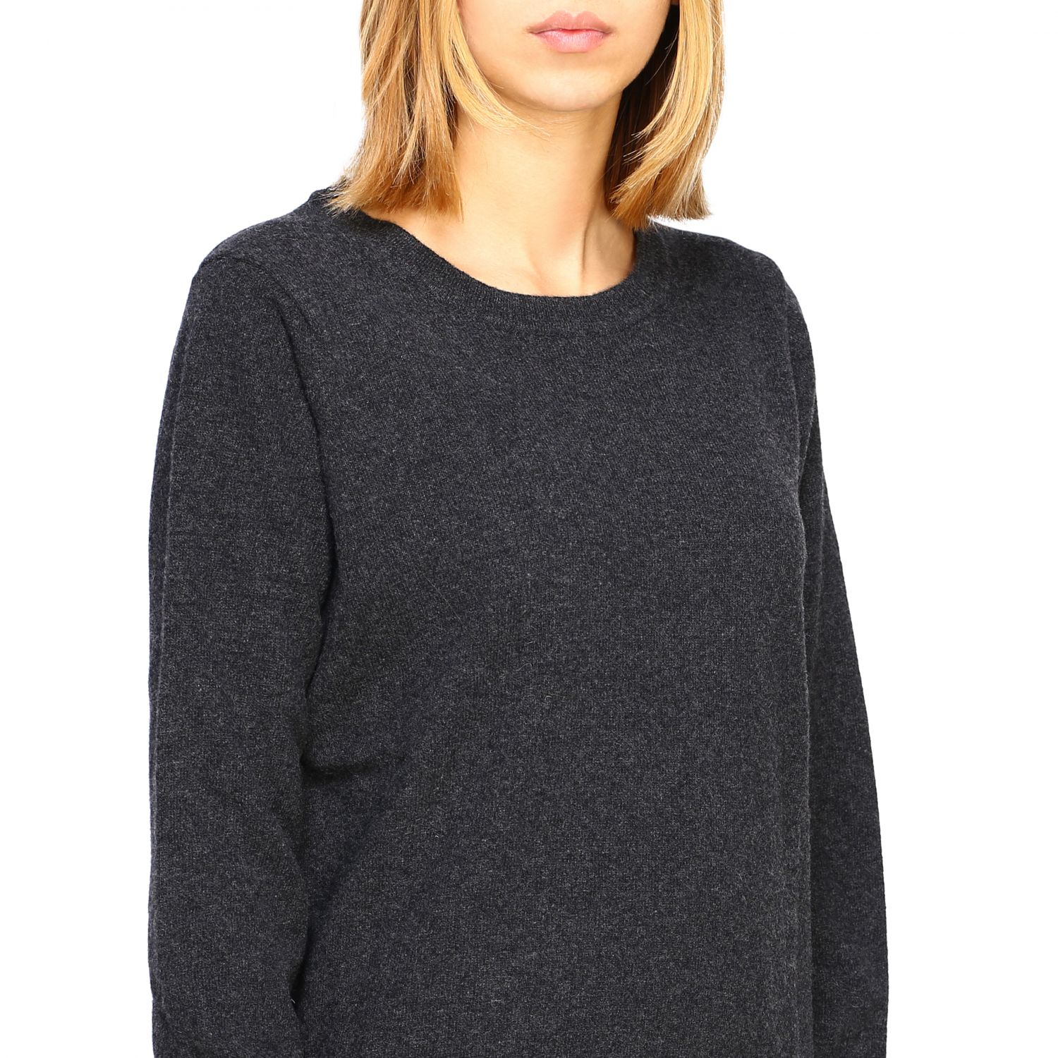Jumper women Re_branded charcoal 5