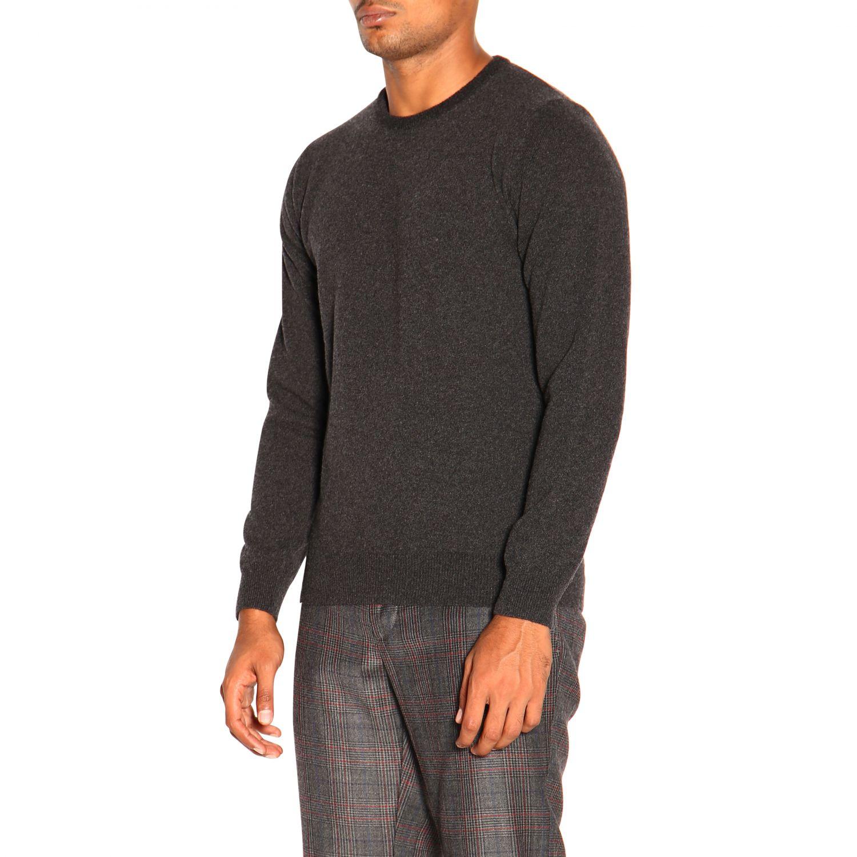 Pullover herren Re_branded charcoal 4
