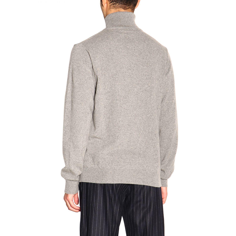 Pullover herren Re_branded grau 3