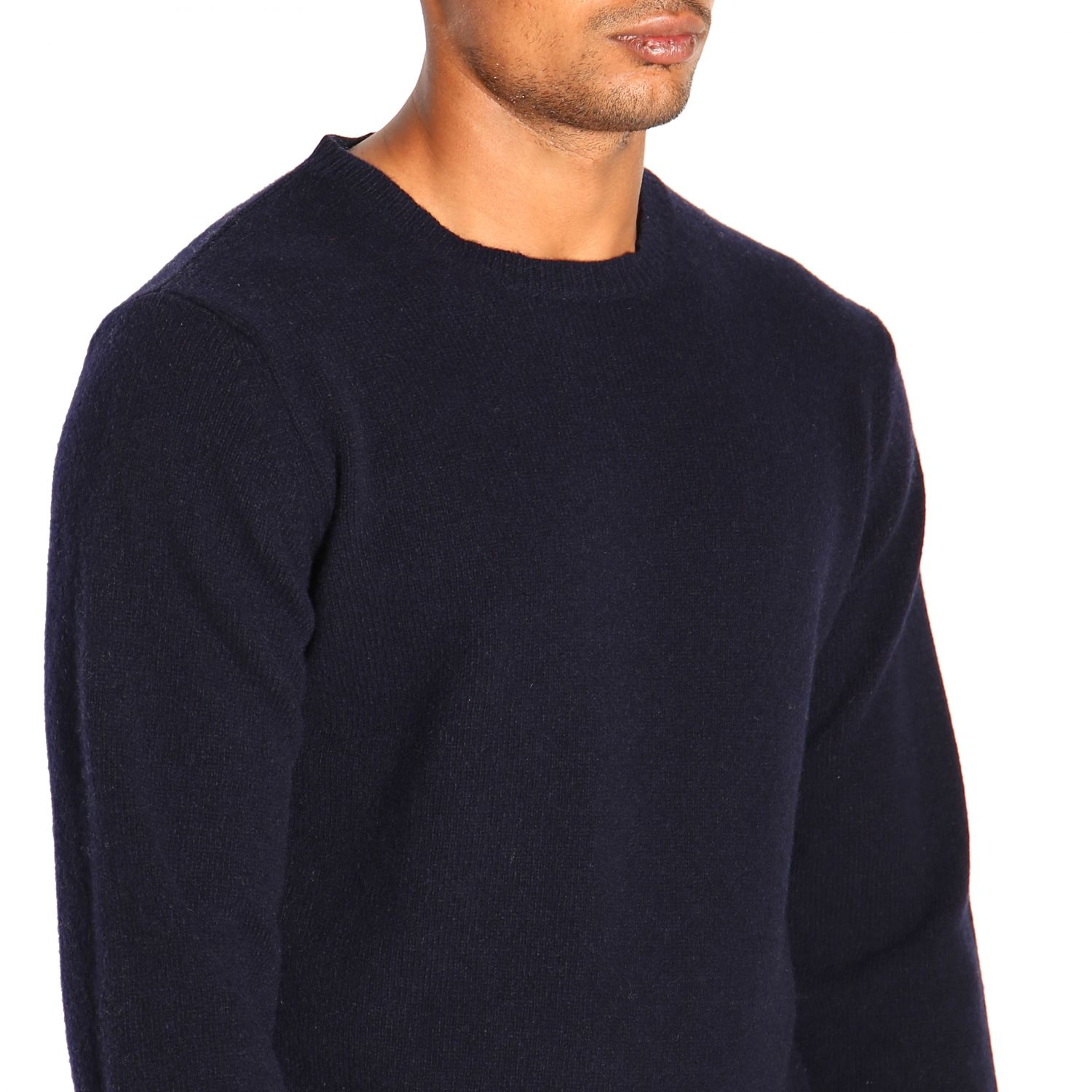 Pullover herren Re_branded blau 5