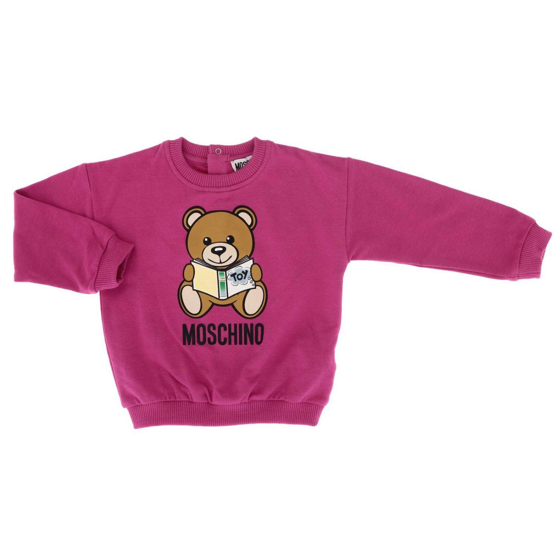 Pullover Moschino Baby: Pullover kinder Moschino Baby fuchsia 1
