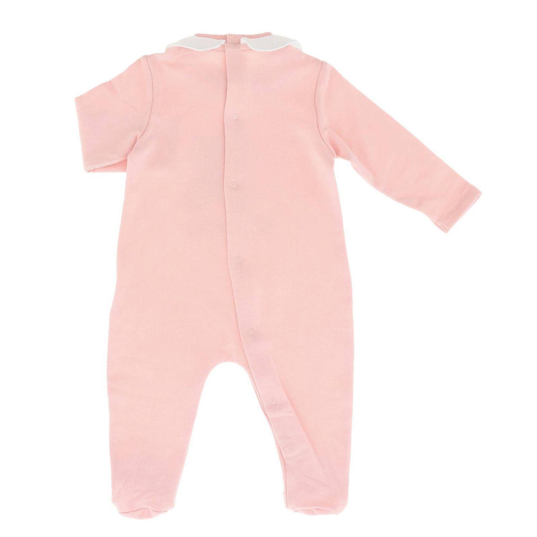 Romper kids Moschino Baby pink 2