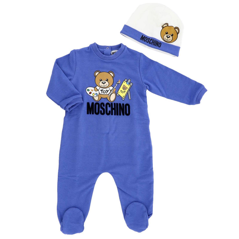 Комбинезон Детское Moschino Baby королевский синий 1