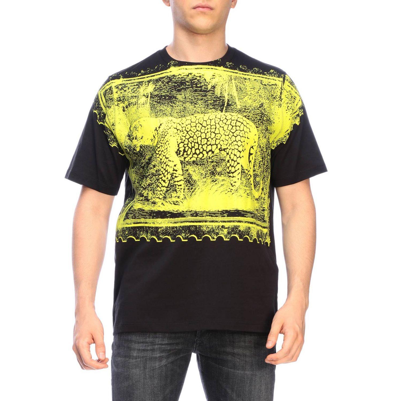 Camiseta hombre Roberto Cavalli negro 1