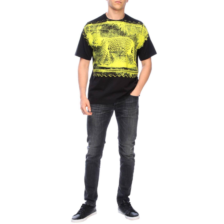 Camiseta hombre Roberto Cavalli negro 2