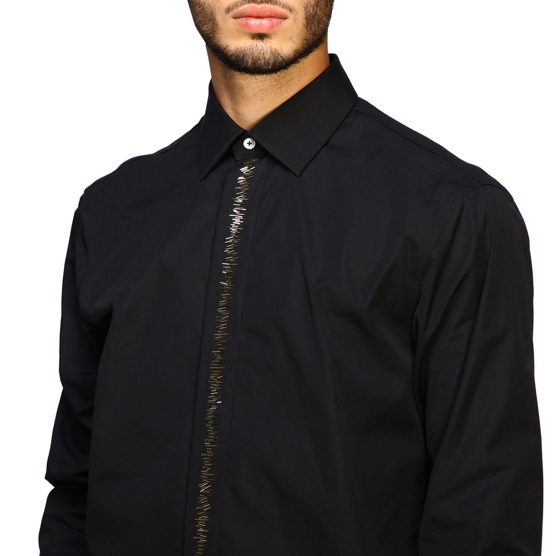 Hemd herren Roberto Cavalli schwarz 5