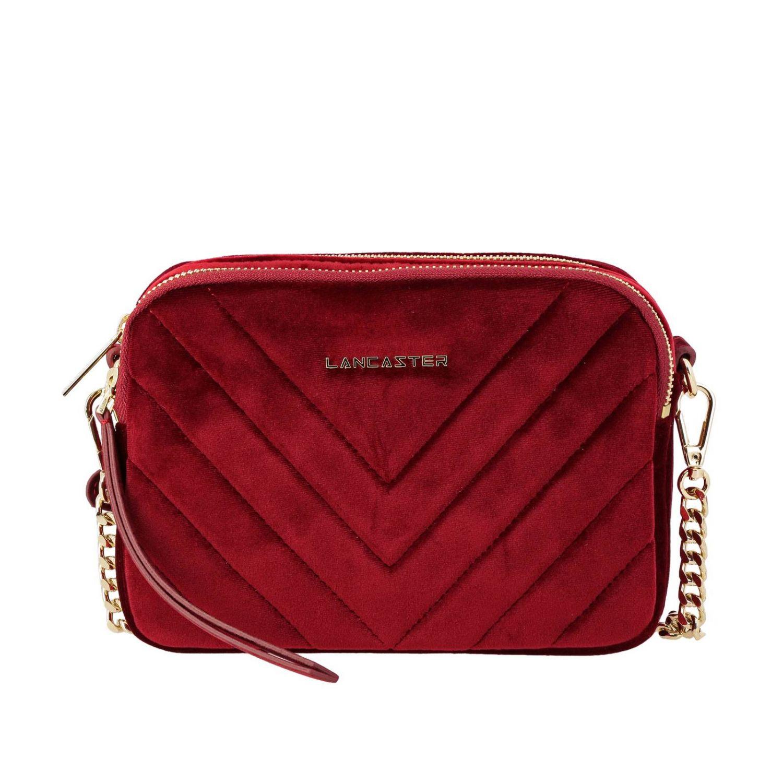 Mini bag Lancaster Paris: Shoulder bag women Lancaster Paris red 1