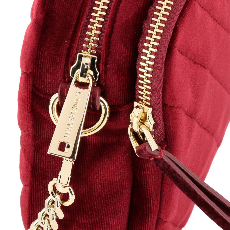 Mini bag Lancaster Paris: Shoulder bag women Lancaster Paris red 3