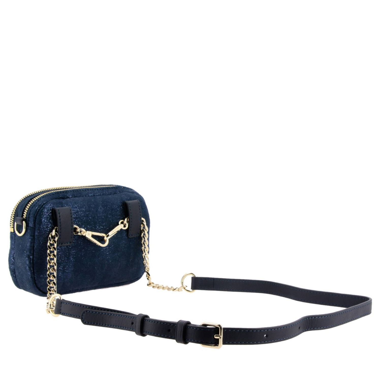 Shoulder bag women Lancaster Paris blue 2
