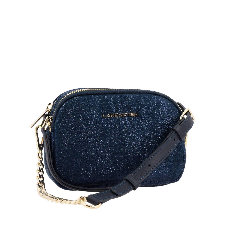 Shoulder bag women Lancaster Paris blue 3