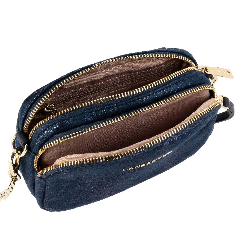 Shoulder bag women Lancaster Paris blue 4