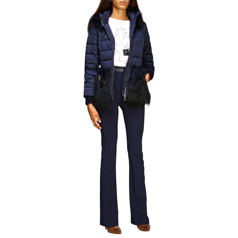 Jacket women Elisabetta Franchi blue 2