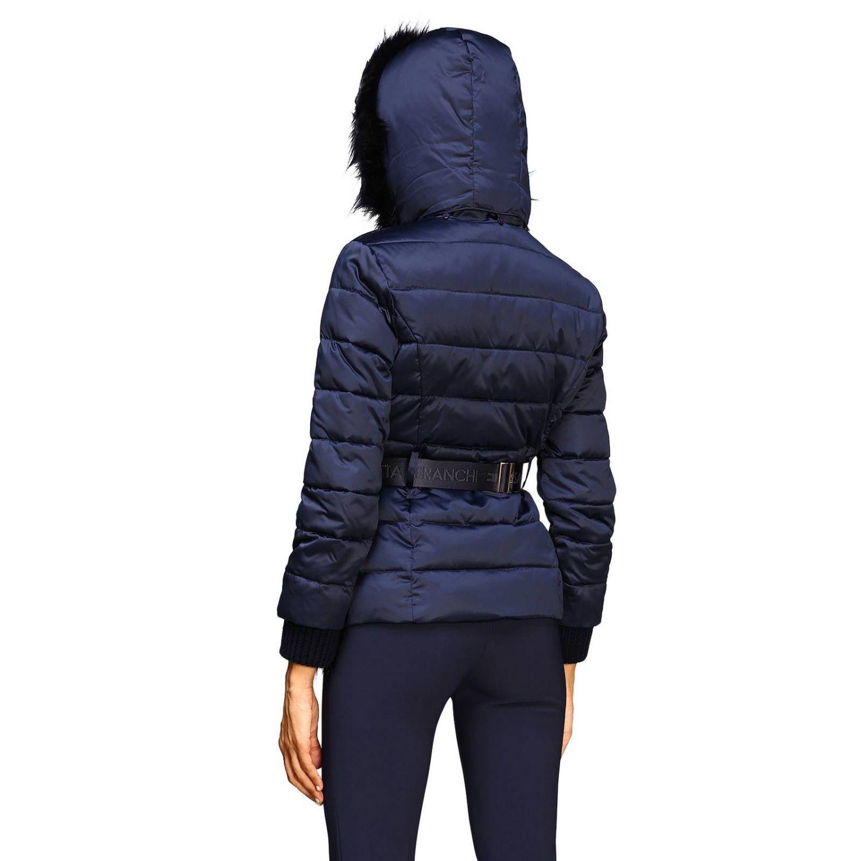 Jacket women Elisabetta Franchi blue 3