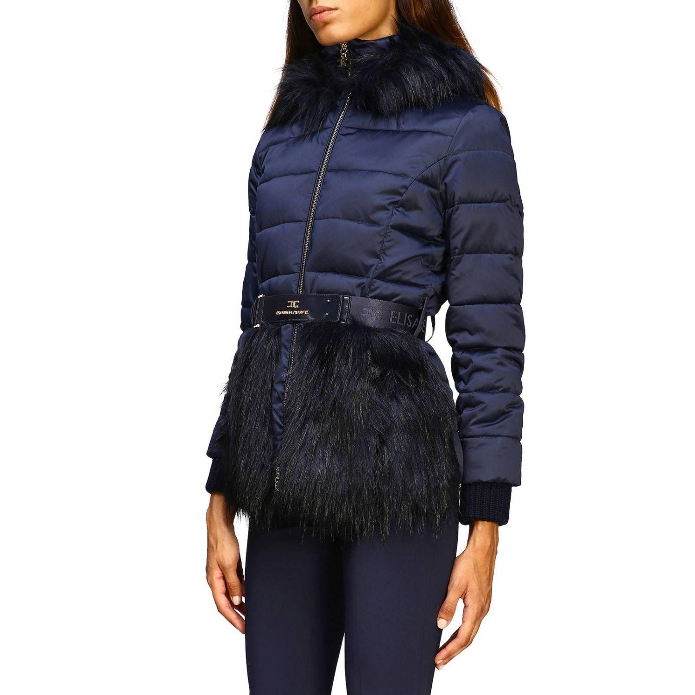 Jacket women Elisabetta Franchi blue 4