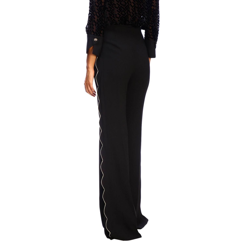 Trousers women Elisabetta Franchi black 3