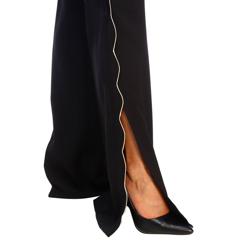 Trousers women Elisabetta Franchi black 4