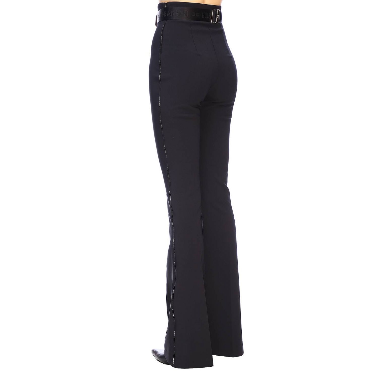 Trousers women Elisabetta Franchi black 3