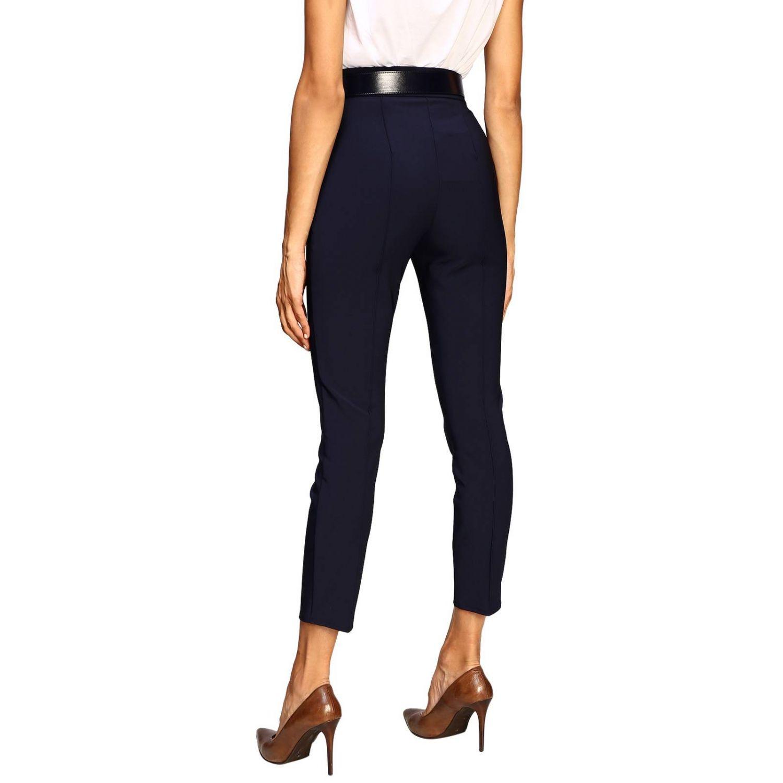 Trousers women Elisabetta Franchi blue 3