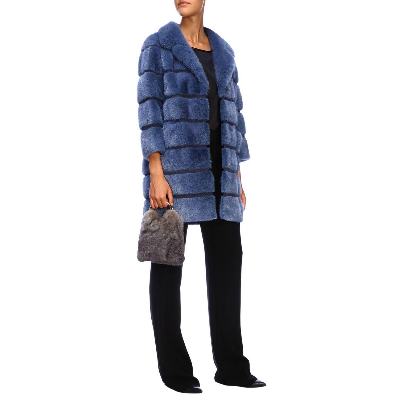 Shoulder bag women Simonetta Ravizza grey 2