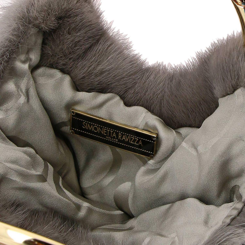 Handbag Simonetta Ravizza: Shoulder bag women Simonetta Ravizza grey 5