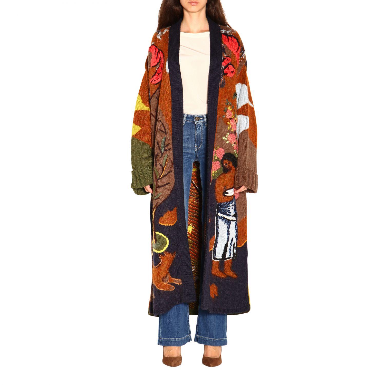 Coat women Stella Jean multicolor 1