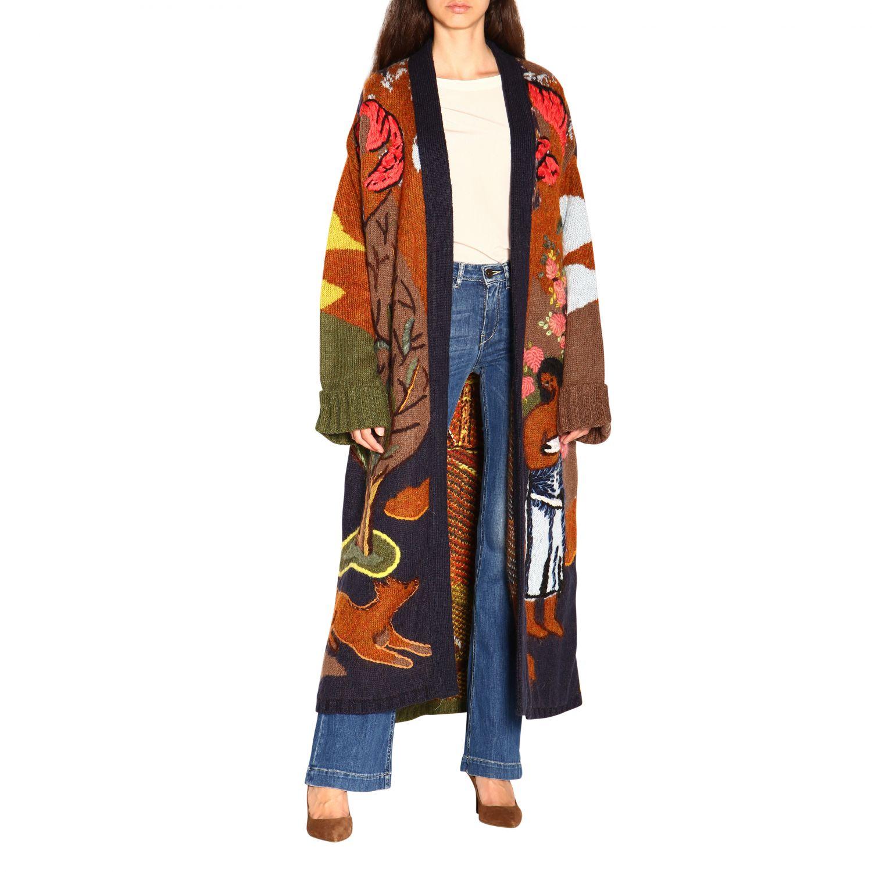 Coat women Stella Jean multicolor 2