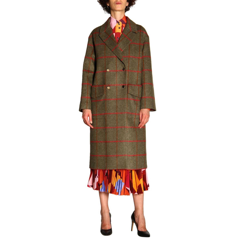 大衣 女士 Stella Jean 绿色 1
