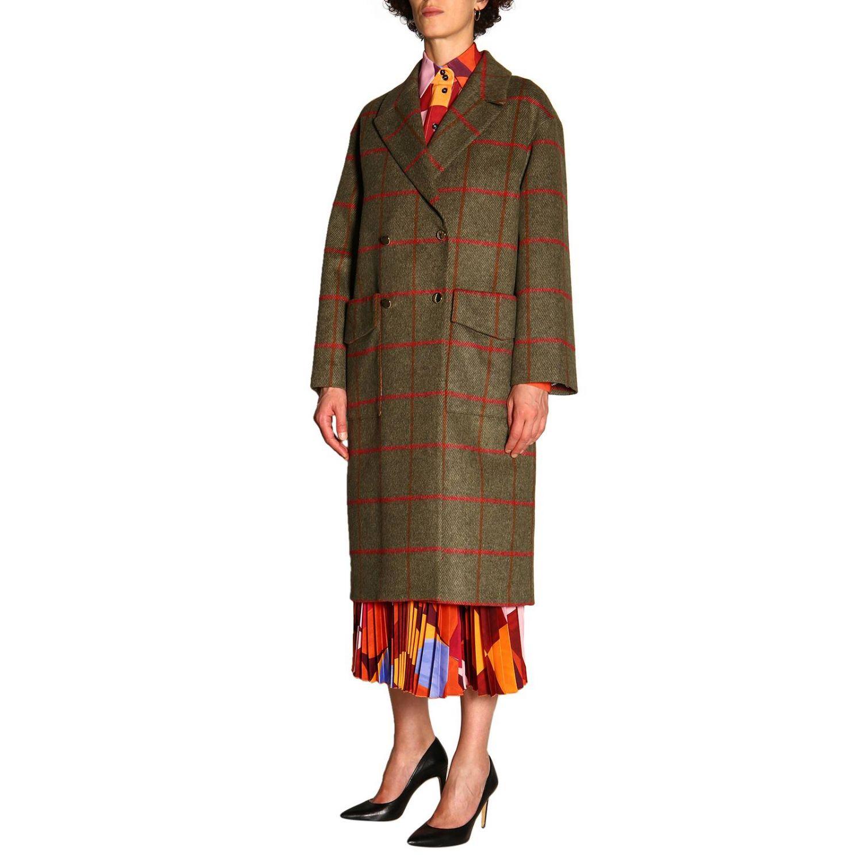 大衣 女士 Stella Jean 绿色 4