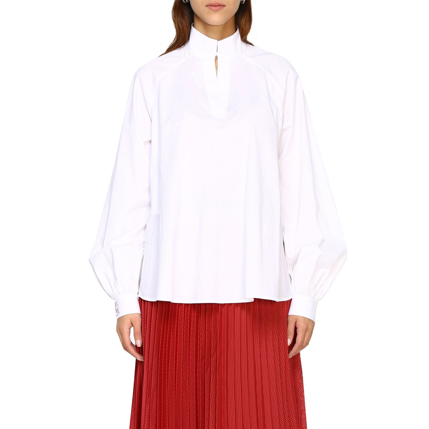 Shirt women Stella Jean white 1