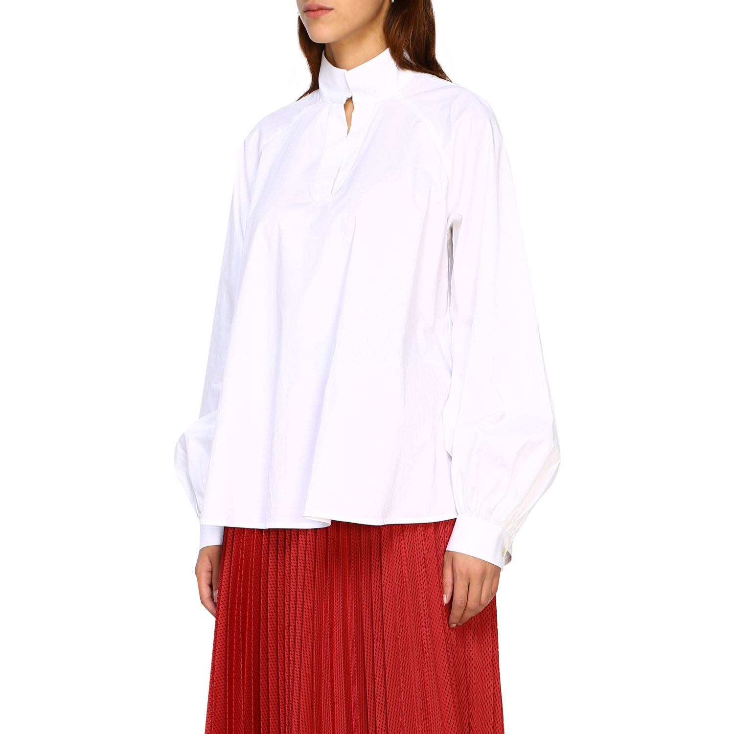 Shirt women Stella Jean white 4