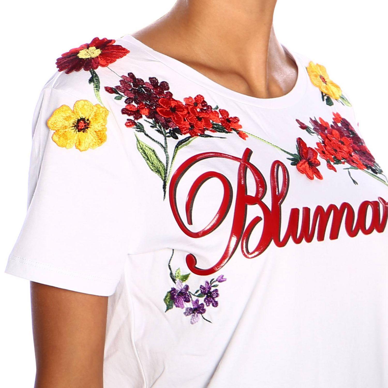 T-shirt femme Blumarine blanc 4