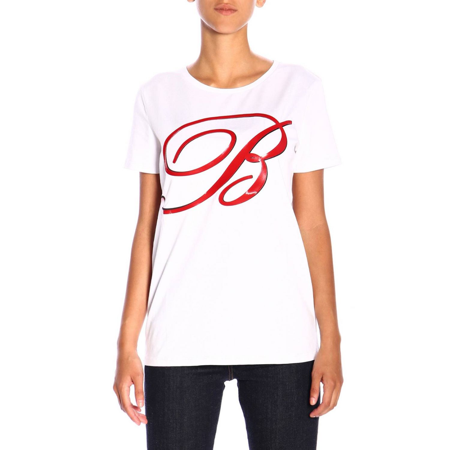T-shirt women Blumarine white 1