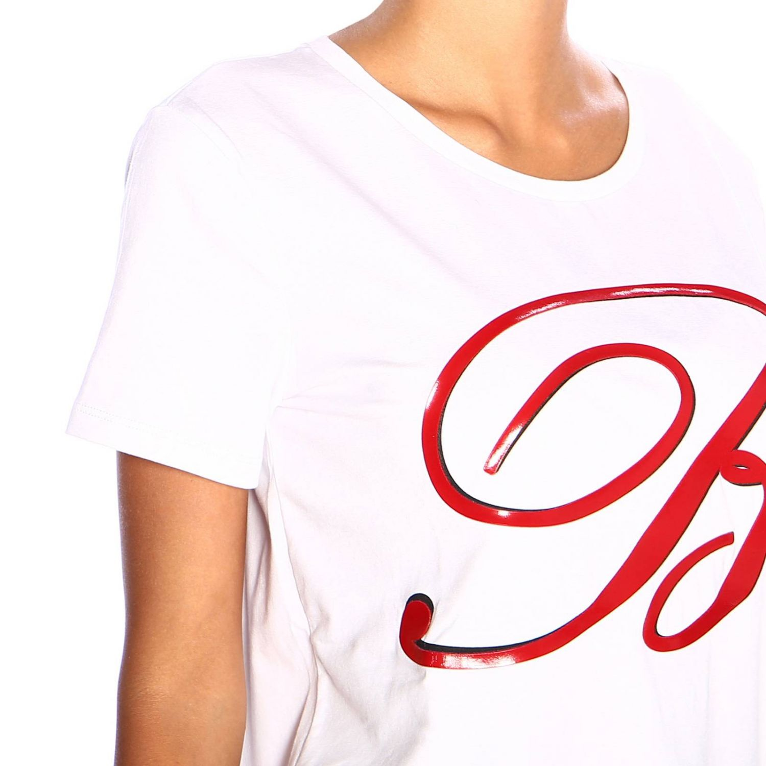 T-shirt women Blumarine white 4