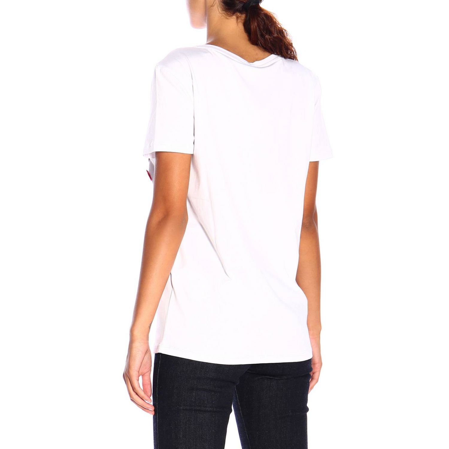 T-shirt women Blumarine white 3