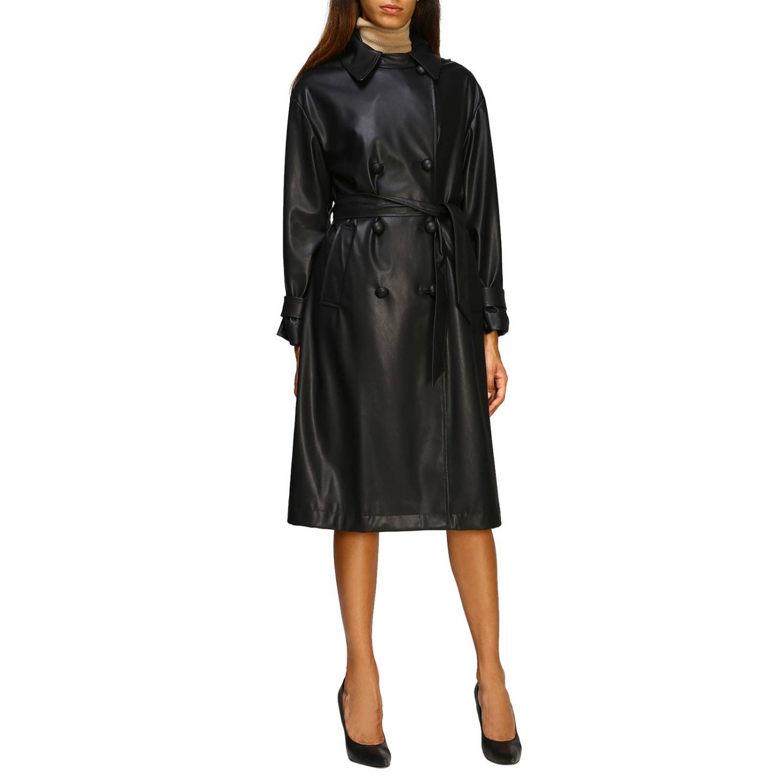 Abrigo mujer Be Blumarine negro 1