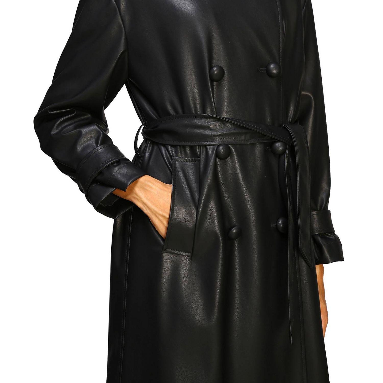 Abrigo mujer Be Blumarine negro 5