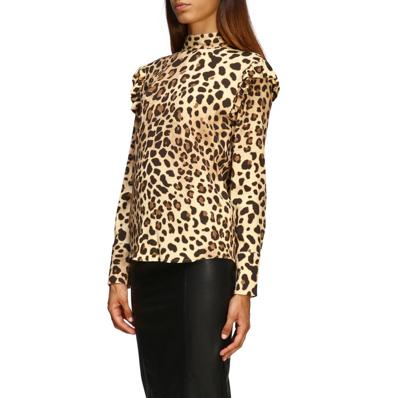 Рубашка Be Blumarine: Блузка Женское Be Blumarine бежевый 4