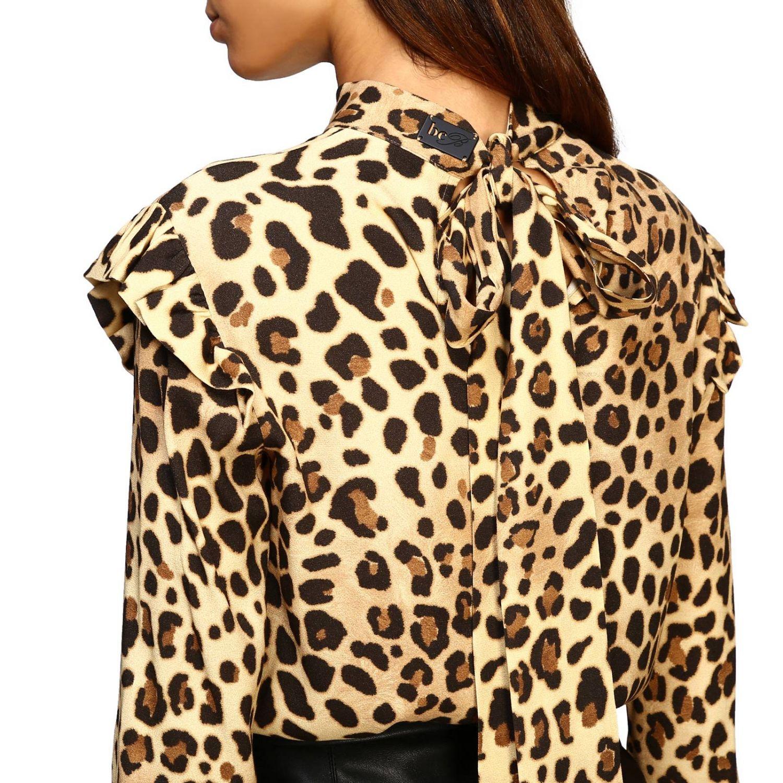 Рубашка Be Blumarine: Блузка Женское Be Blumarine бежевый 5