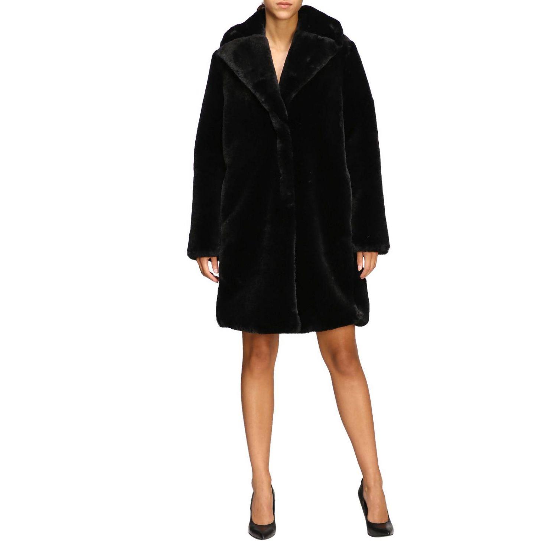 Manteau femme Be Blumarine noir 1