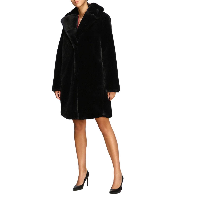 大衣 女士 Be Blumarine 黑色 4