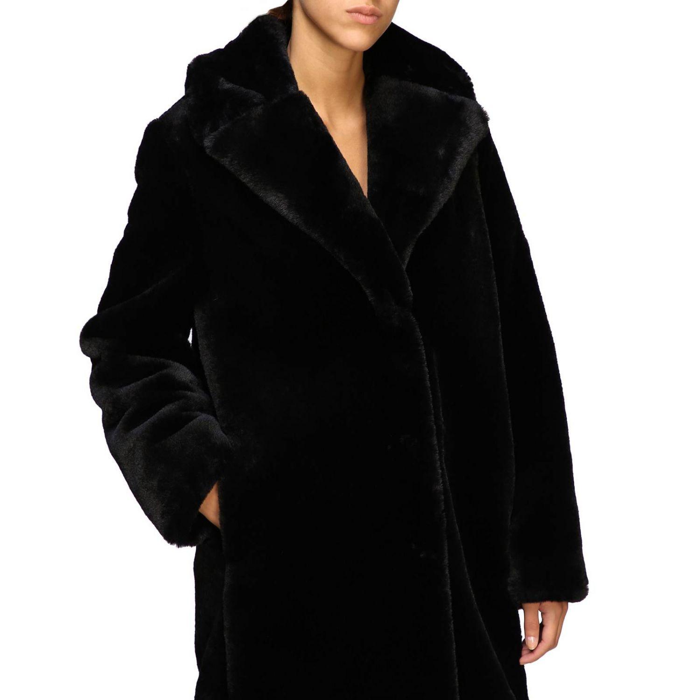 Manteau femme Be Blumarine noir 5