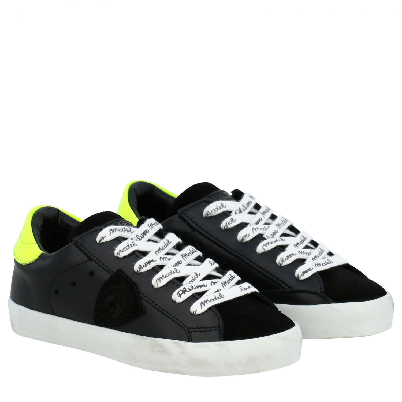 Shoes kids Philippe Model black 2