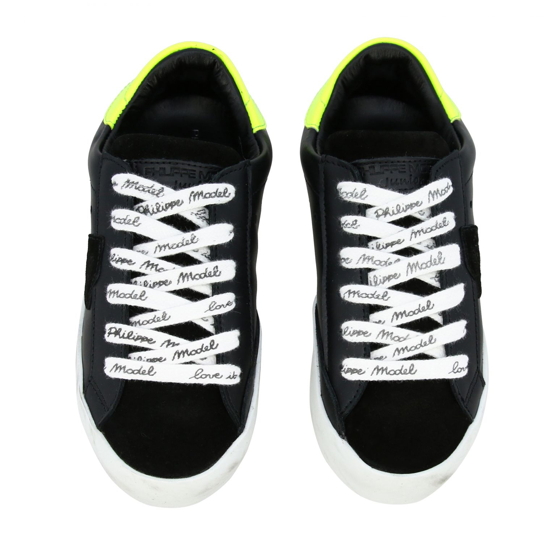 Shoes kids Philippe Model black 3